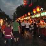 Street vendors (north end of Wanghujing)