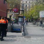 Una estación cercana al hostal