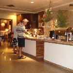 area de desayuno y cena