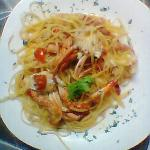 LINGUINE AL GRANCHIO .FANTASTICHE.