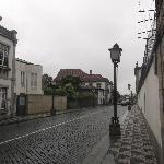 Guimaraes, via che conduce al castello