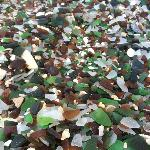 So much sea glass to be found!