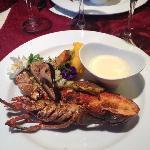Le plat de homard