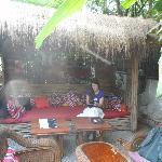 sala de lectura al aire libre
