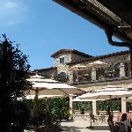 "Back patio- very ""Tuscan"""