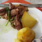 lamb and potatoes