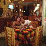 La foto que nos tomó el papacito de Pancho's Grill!