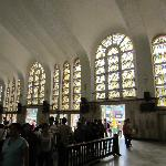 The windows of Quiapo Church