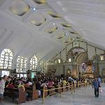 The beautiful interior of the Quiapo Church