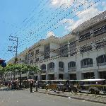 Outside the Tutuban Mall
