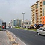 Al Mankhool road/Kuwait Street? Bus stop right outside hotel