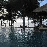 Heerlijk, groot zwembad
