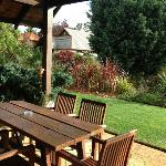 outside dining areas with lovely views