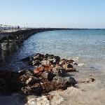 The Tanker Jetty - a worthwhile 20 minute walk from the Holiday Park