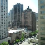 View from 1317 of Magnificent Mile