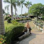 Hotel's Yard