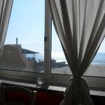 Veduta spiaggia dalla sala interna