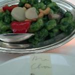 Green Shrimp entree