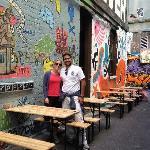 Jaime & Julia from Mexico, visiting Hosier Lane