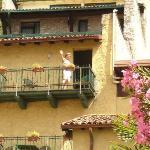 La Limonaia, einzig schön am Zimmer der Blick z. Gardasee!