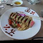 Wasabi Crusted Tuna