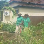 The hard working Lady Gardeners