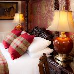 Our Romantic Four Poster Room