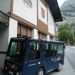 Taxi de l'hôtel