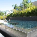 elite suites pool area