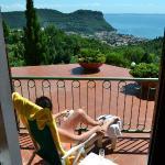 Flot udsigt og plads til solbadning