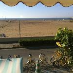 Panorama dal ristorante