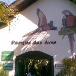 Entrda do Parque das Aves
