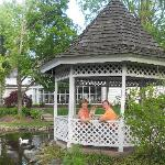 Gazebo great place for relaxing and picture taking