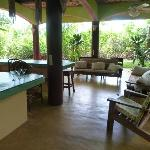 Ground floor patio - Villa Villa Kula