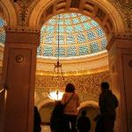 The largest Tiffany glass dome. You'll have to play to find out where it is...