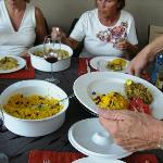 Abendessen (Einladung der Gastherren)