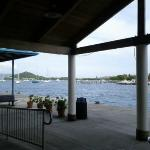 Red Hook Ferry terminal on St. Thomas