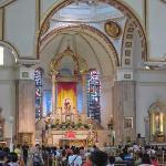 Altar in the Quiapo Church