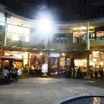 From a distance no distinctive features make Zao stand out from the surrounding eateries