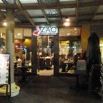 Entrance to Zao Bistro