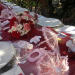 Baby shower at La Vie Rosa Tea Garden