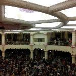 Vishalakshi Mandap - inside