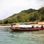 Local wooden boat (Thumbu)