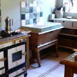 Wekos Range in Kitchen/Dining Room