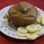 Gluten/Dairy Free Banana Walnut Muffin