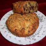 Gluten Free Orange Chocolate Chip Scone