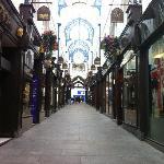 Thornton's Arcade - looking towards Lands Lane