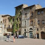 Entrance view of Hotel La Cisterna