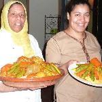 excellente cuisine et sourire marocain