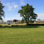 Room overlooking the village cricket ground